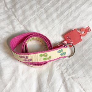Esprit flip flop belt NWT s/m
